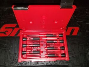 Snap On Sgdet70 7pc Electronic Miniature Torx Screwdriver Set Red Case New