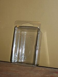Qty 100 Large Clamshell Blister Packs Clear Box Hanging Packaging Action Figure