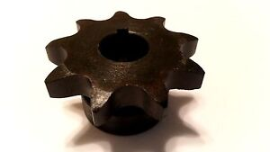41b10h 3 4 Type B Finish Bore Sprocket For 41 Roller Chain 10 Tooth 41bs10h