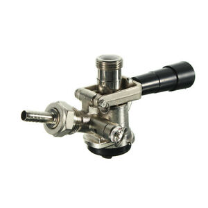 D Style System Chrome Draft Beer Keg Bar Coupler Lever Handle