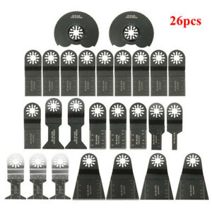 26pcs Oscillating Multitool Saw Blade Accessories kit for Fein Multimaster
