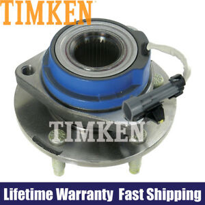 Timken Front Wheel Bearing And Hub Assembly For Buick Cadillac Chevy Pontiac