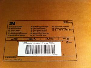 3m 1818 Tie on Surgical Mask Case 600 10 2021 Exp