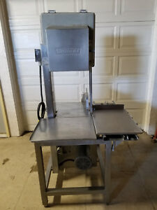 Hobart 5801commercial Butcher Meat Saw Tested 208 230v