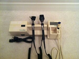 Welch Allyn 767 Wall Transformer Diagnostics System With Thermometer