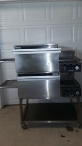 Lincoln Impinger Ii 1132 Double Stack Pizza Sub Conveyor Oven Tested 208v