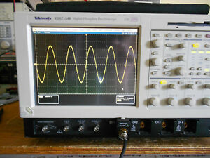 Tektronix Tds7154b Oscilloscope 4ch 1 5ghz 20gs s Opt 5m And More Win Xp