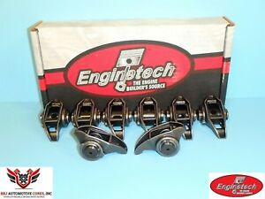 8 Enginetech Chevy Ls3 L92 6 0 6 2 Rocker Arms With Updated Trunion Kits