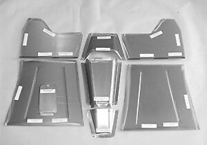 Direct Sheetmetal Cv245 1937 46 Chevy Pickup Truck Front Floorboard Recessed