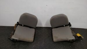 2000 Ford Ranger Set Of Left Right Cloth Rear Jump Seats Gray Trim Code E2