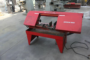 Carolina Horizontal Metal Cutting Band Saw 8 X 15 Stock 8023