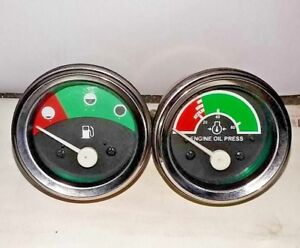 At164542 at104809 New John Deere Tractor Engine Oil fuel Gauges For industrial
