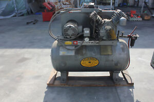 5 Hp Ingersol Rand Air Compressor Tank Type T 30 5tm 18 Cfm X 125 Psi