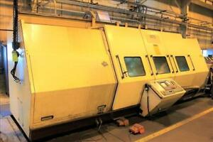 1996 Wfl Voest Alpine M70 Millturn Slant Bed Cnc Lathe 5 Axis Live Tooling