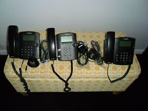 Polycom Vvx 300 Ip Phone Lot Of 3