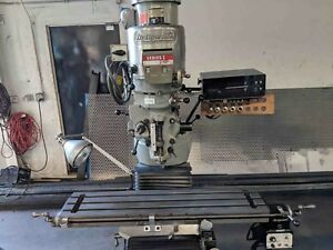 Bridgeport Vertical Mill Series 1 2hp 9 x42 Table 2 Axis Dro Stock 8015