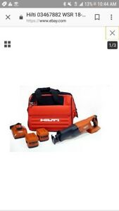Hilti Saw Brand New W Charger Battery