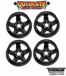 Steel Wheel Rim 16 Inch Wheels Set Of 4 5 Spoke For 07 11 Chevy Hhr