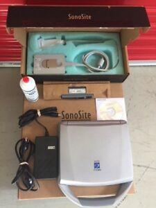 Sonosite Titan Portable Ultrasound Tested With Probe Charger New Oem Battery