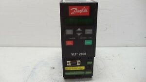 Danfoss Vlt 2800 Variable Speed Drive Pn 195n1013 Used