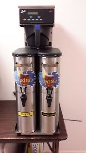 Stainless Steel Curtis G3 Digital Dual Iced Tea Maker With 2 Dispensers