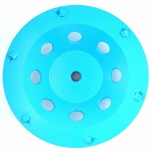 7in Pcd Cup Wheel For Concrete Surface 5pcs