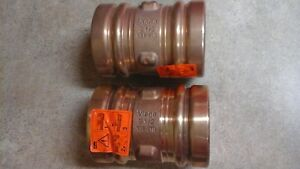Propress 3 Bronze Couplings Free Priority Mail Shipping