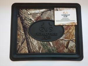 Realtree Ap Camo Rear Seat Utility Floor Mat Heavy Duty Set Of 2