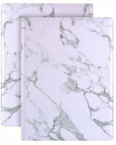 Plinrise Luxury Marble Portfolio File Folder Document Resume Organizer padfolio