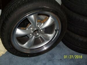 Brand New Set Of 4 Ford Racing Wheels And Michelin Pilot Sport Tires