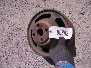 Oliver 77 88 Rowcrop Tractor Original Steel Flat Belt Pulley K691a