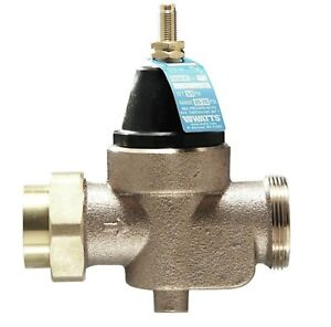 Watts 1 In Lead free Brass Fpt X Fpt Pressure Reducing Valve