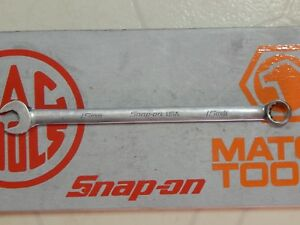 Snap On Tools Long Flank Drive Metric Combination Wrench 15mm Soexlm15 10 5