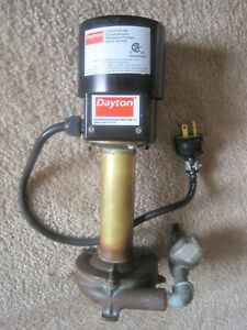 Dayton Circulator Water Coolent Pump Motor 4jpg4