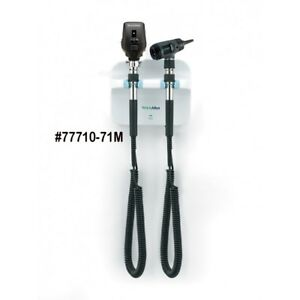 Gs777 Wall Transformer Set Coaxial Opthalmoscope Diagnostic Macorview Otoscope