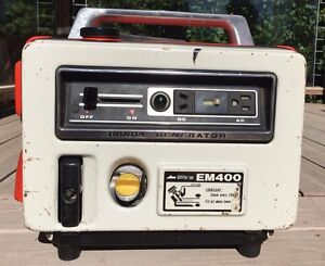 Vintage Honda Em400 Portable Generator Japan 4 Stroke Ac dc Works Great