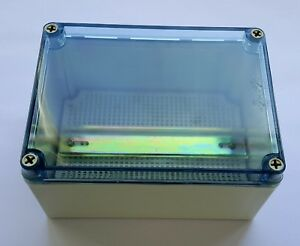 Clear Top Waterproof Plastic Electrical Enclosure With Mounting Plate Din Rail