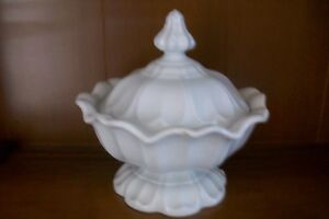 Boote Antique English White Earthenware Covered Tureen Sydenhar