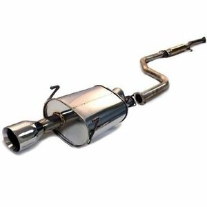 Tanabe Medalion Touring Dual Muffler Catback Exhaust For 2002 03 Acura Cl Type S