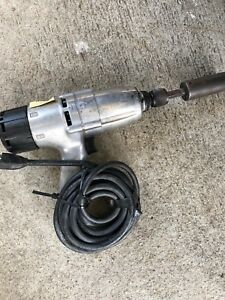 Ingersoll Rand 8053 Electric Impact Wrench W 5 8 Inch Used Condition