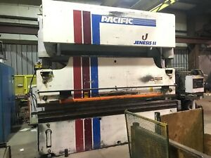 Pacific 175 Ton X 12ft Hydraulic Press Brake Flush Floor W 3 Axis Cnc Control