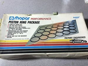 Nos Mopar Performance Piston Ring Package 318 0 030 Over P n 4349845