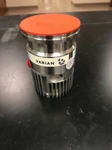 Varian 9699357s002 Tmp Turbo Molecular Pump Turbo v 70 Low Hours Works Great