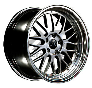 18x8 5x108 Jnc 005 Hyper Black Made For Ford Volvo