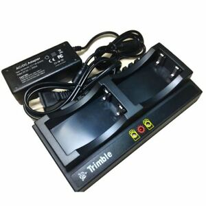 Trimble Dual Charger For Trimble 5700 5800 r8 r7 r6 Gnss Gps Battery