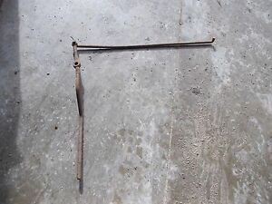 Farmall Md M Diesel Tractor Ih Engagement Lever Linkage Rod
