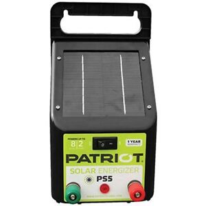 Patriot Ps5 Solar Energizer 0 04 Joule Fencing Livestock Supplies Agriculture