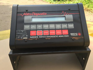 Matco Diagnostics Md65 Engine Systems Analyzer Tool With Various Probes Md 65