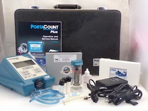 Tsi Portacount 8020a W accessories Foam Fitted Carry Case N95 Ready Used 2