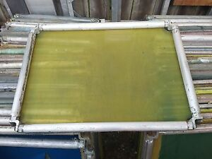 Lot Of 8 Screen Printing Screens roller Frames 21 X 23